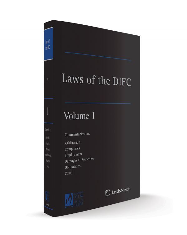 The Laws of the DIFC - Volume 1